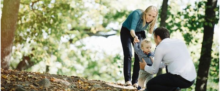 Labai gražios ir šaunios šeimos fotosesija