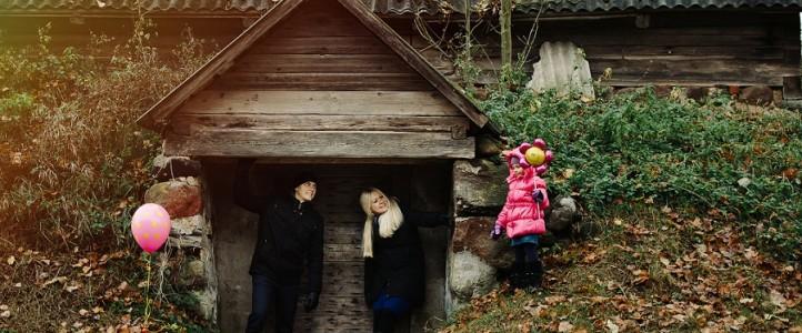 Autumn time / Rudenėlio apsupty
